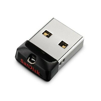 Mini pendrive penna pennetta flash USB 2.0/3.0 SanDisk Cruzer Fit chiavetta 16GB
