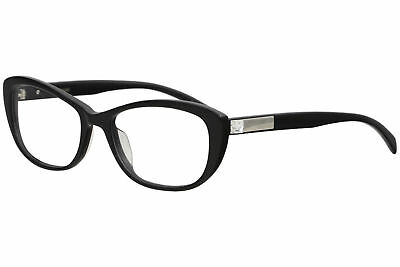 15eace88706 Vera Wang Women s Eyeglasses Gilia BK Black Full Rim Optical Frame 54mm