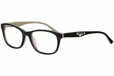75d8bc8d93c Vera Wang Women s Eyeglasses Laene BK Black Full Rim Optical Frame 54mm