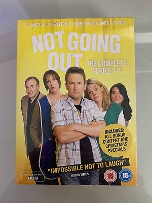 Not Going Out: The Complete Series 1-7 (Box Set) [DVD]