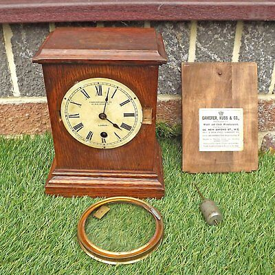 19th Century? Camerer Kuss & Co Mantle Clock - For Spares / Repair