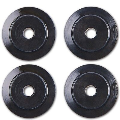 4x PIPE CUTTER SPARE WHEELS 15/22mm Replacement/Repair Copper/Aluminium Tube Cut