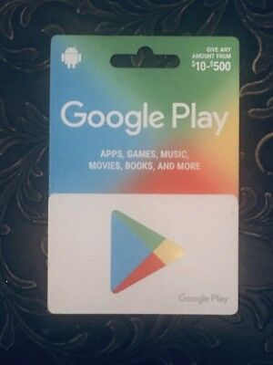 Google Play Gift Card $450 value - New/unscratched
