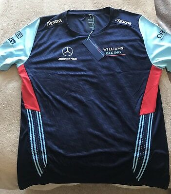 F1 - Williams F1 Team - 2018 Alternative Team T-Shirt - XL - New With Tags