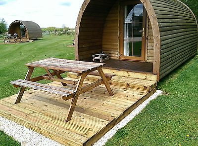 Gift Voucher Glamping Pod Camping Christmas Birthday Short Breaks York Yorkshire