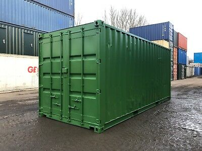 20Ft Used Newly Refurbished Shipping Container For Sale