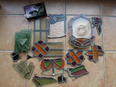 Antique Stained Glass Architectural Salvage