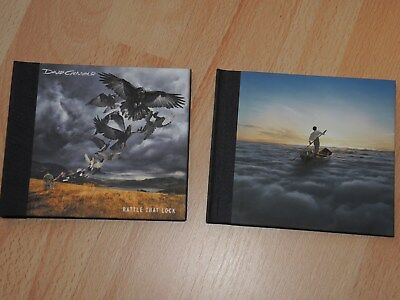 2 x CD Mediabook PINK FLOYD & DAVID GILMOUR Endless River Rattle That Lock