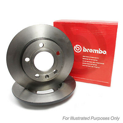 Brembo Front Brake Discs Pair Genuine OE Quality Service Part