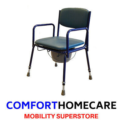 Stacking Commode height adjustable Hygenic pot Roma medical