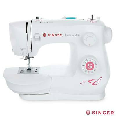 Heavy Duty Fashion Mate Singer Sewing Machine with Built in Needle Threader