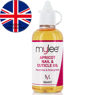 Mylee Apricot Nail & Cuticle Oil 50ml, – Deeply Hydrating & Nourishing...