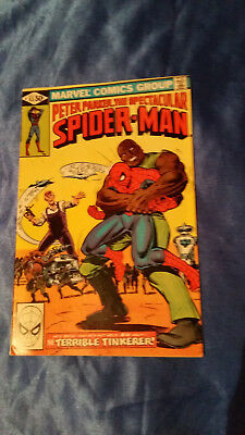 Spectacular Spider-Man 53, US Comic von 1981