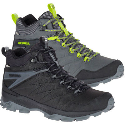 3ed0518990e MERRELL MENS THERMO Freeze Mid Waterproof Fabric Leather Walking Boots