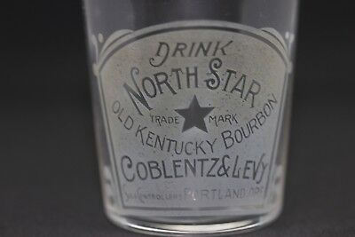 Pre Pro Shot Glass--- DRINK NORTH STAR OLD KENTUCKY BOURBON