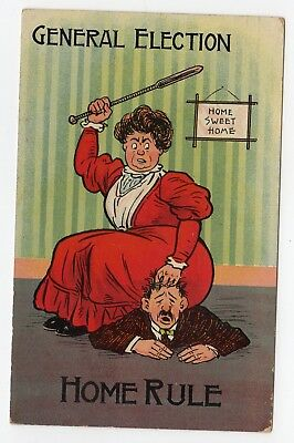 Home Rule General Election Violence Wife Husband 1910?