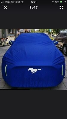 Mustang GT All Season Cover Blue