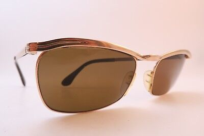 Vintage 50s sunglasses gold filled MARWITZ OPTIMA size 54-18 made in Germany