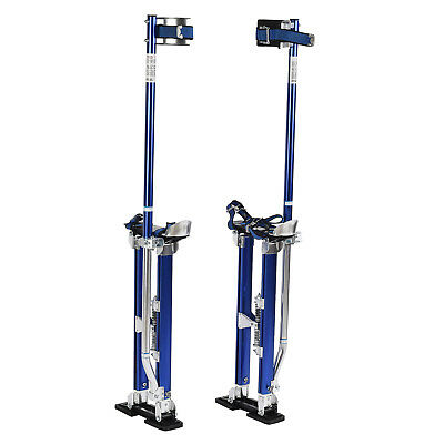 Drywall Stilts 24-40 Inch Blue Aluminum Painting Walking Taping Tool Stilt