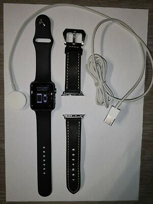 Apple Watch Serie 1 42mm noir TBE
