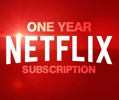 Netflix Gift - 12 MONTHS WARRANTY - RAPID DELIVERY