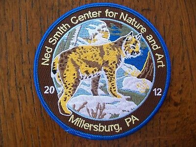 Pa  Penna Game Ned Smith Center  Patch  2012 Big Woods  Bobcat Signature Series