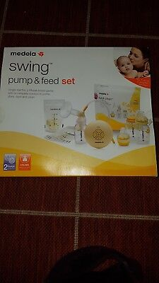 Medela Swing Electric 2 Phase Breast Pump and feed set