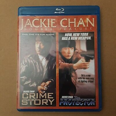 Jackie Chan Bluray Double Feature - CRIME STORY + THE PROTECTOR Blu ray
