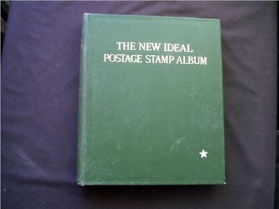 "14166aj  BRITISH COMMONWEALTH USED STAMPS COLLECTION IN ""NEW IDEAL"" ALBUM"