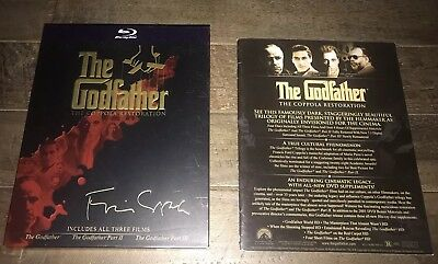 The Godfather 3 Film Trilogy Collection Blu-ray The Coppola Restoration
