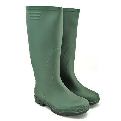 Green Mucker Rubber Wellingtons Mens Ladies Boys Wellies Snow Boots Shoes New