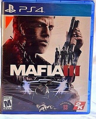 Mafia III PS4 New Video Game Factory Sealed