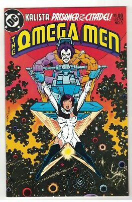 OMEGA MEN #3 - 1st APP OF LOBO - KEITH GIFFEN ART - DC COMICS/1983