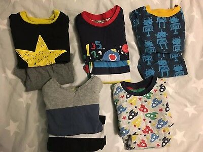 Baby Boys Pyjama Bundle Age 12-18 Months Long Sleeved Tops Bottoms