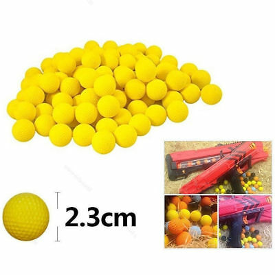 100pcs Round Compatible For Nerf Rival Apollo Toys Gun Refill Bullet Balls H4L3Z