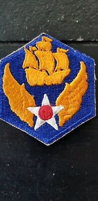 WWII US Army 6th AAC Air Corps Squadron Cut Edge Patch