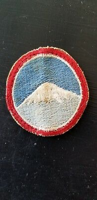 WWII US Army AAC Air Corps Far East Forces Tab Cut Edge Patch