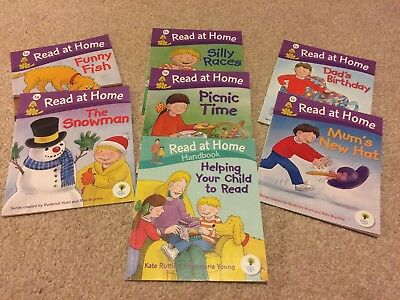 Oxford Reading Tree, Read at Home  Stage 1, And Read At Home Handbook