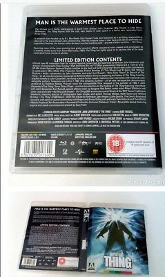 The Thing 1982 Arrow Video 4K Restoration Limited Edition Blu Ray