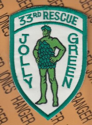 USAF Air Force Combat 33rd Rescue Jolly Green Patch Desert