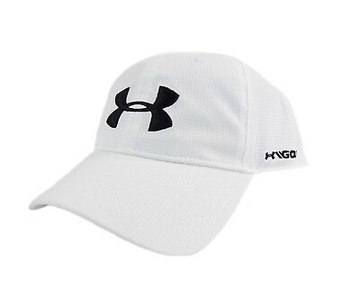 7a742ab5f4d NEW Under Armour Golf Free Fit Armourvent White Black Adjustable Hat Cap