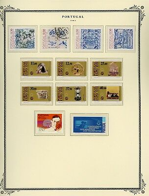 Portugal Scott Specialized Album Page Lot #108 - SEE SCAN - $$$