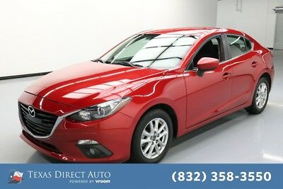 2015 Mazda Mazda3 i Touring Texas Direct Auto 2015 i Touring Used 2L I4 16V Automatic FWD Sedan
