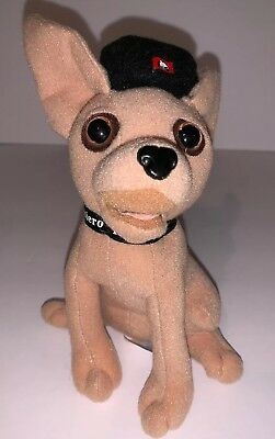 "Vintage Taco Bell Collectible 6"" Stuffed Plush Dog Yo Quiero Taco Bell NO TALK"