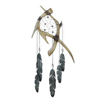 Antlers Feathers Dreamcatcher Decoration
