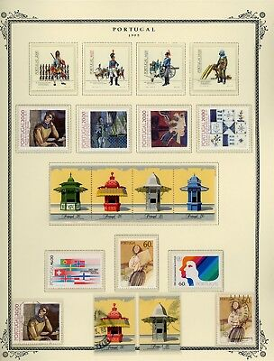 Portugal Scott Specialized Album Page Lot #117 - SEE SCAN - $$$