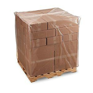 Laddawn Pallet Covers, 1.5 Mil,  58 X 46 X 108, Clear, 50/Case