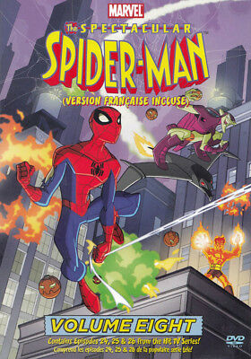 The Spectacular Spider-Man Vol. 8 (Bilingual) New DVD