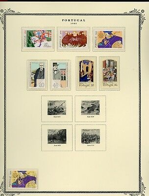 Portugal Scott Specialized Album Page Lot #121 - SEE SCAN - $$$