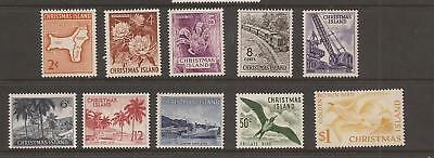 Christmas Island 1963 Pictorials Mnh Set Of Stamps